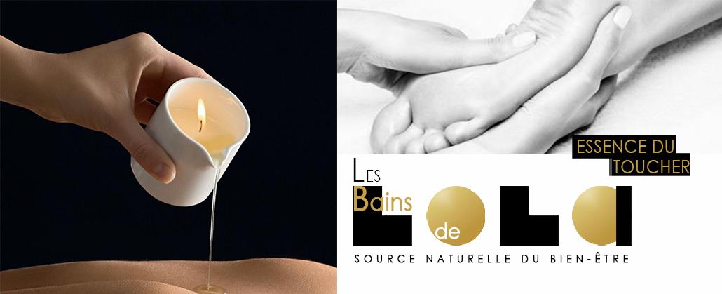 Massage bien-être , spa formule détente essence du toucher.