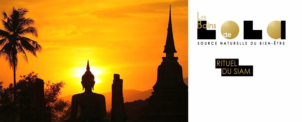 massage thaï, thaïlandais traditionnel. Rituel du siam